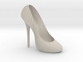Right Classic Pumps Shoe in Natural Sandstone