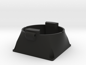 Sinclair C5 Motor Fan Mount in Black Natural Versatile Plastic