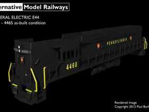 NE4404 N scale E44 loco - 4460-4465 as built in Smooth Fine Detail Plastic