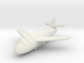 (1:144) Messerschmitt Me P.1079/3 in White Natural Versatile Plastic