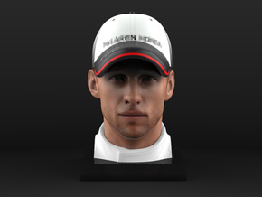 Jenson 1/8 Head Figure in Full Color Sandstone