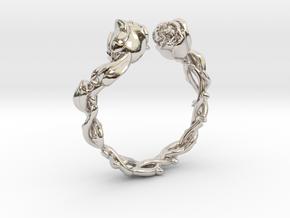 Roses Ring in Platinum: 5 / 49