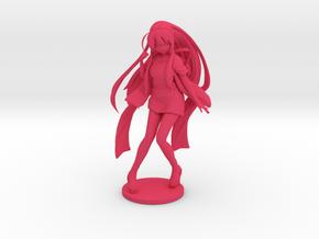 1/12 Anime Girl in Festival Costume in Pink Processed Versatile Plastic