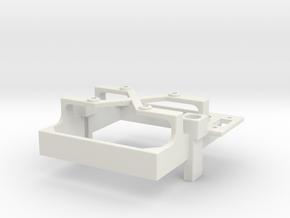 Mamba Monster X fan mount for 30 mm fan switch a in White Premium Versatile Plastic