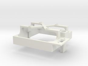 Mamba Monster X fan mount for 30 mm fan switch b in White Premium Versatile Plastic