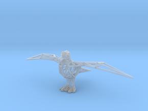 Gull in Smooth Fine Detail Plastic