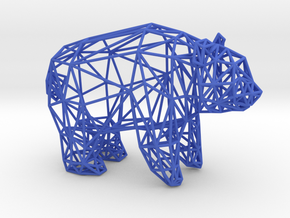 Giant Panda (adult male) in Blue Processed Versatile Plastic