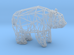 Giant Panda (adult male) in Smooth Fine Detail Plastic