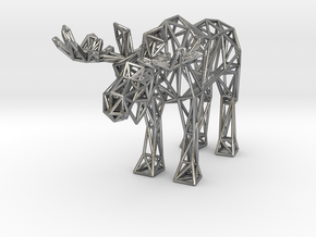 Moose (adult male) in Natural Silver