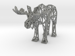 Moose (adult male) in Gray Professional Plastic