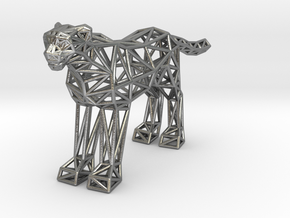 Cheetah (adult) in Natural Silver
