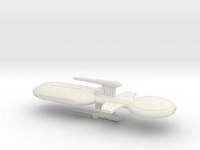 3125 Scale Gorn Brontosaurus Fleet Tug (1 Pod) SRZ in White Natural Versatile Plastic