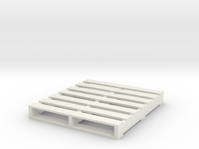 wood pallet in White Natural Versatile Plastic