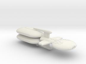 3125 Scale Gorn Brontosaurus+ Fleet Tug (2 Pods) in White Natural Versatile Plastic