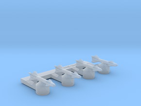 Omni Scale General Type-VI Dogfight Drones MGL in Smooth Fine Detail Plastic