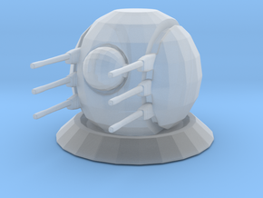 Spitter Turret in Smooth Fine Detail Plastic