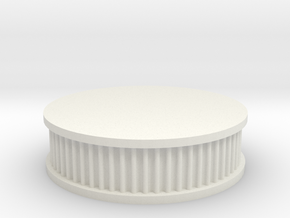 air filter round 1/12 in White Natural Versatile Plastic