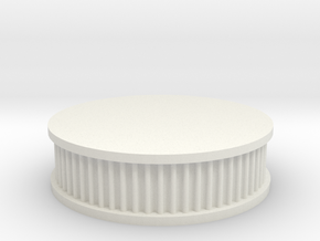 air filter round 1/8 in White Natural Versatile Plastic