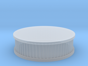air filter round 1/8 in Smooth Fine Detail Plastic