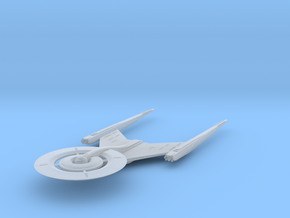"""USS Discovery V3  3"""" in Smooth Fine Detail Plastic"""
