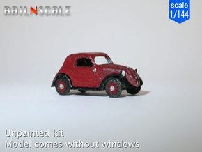 Fiat 500A Topolino (1/144) in Smooth Fine Detail Plastic