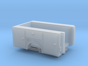 Pick Up Truck Bed With Lift Gate 1-87 HO Scale in Smooth Fine Detail Plastic