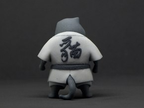 Judo cat in Natural Full Color Sandstone