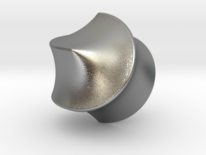 Hexasphericon Sloped in Natural Silver