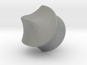 Hexasphicon Sloped in Gray Professional Plastic