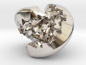 Geode Sphericon in Platinum
