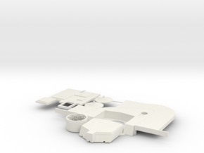N Missile Silo Complex in White Natural Versatile Plastic