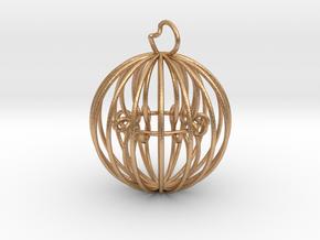 Sphere Interlocket in Natural Bronze (Interlocking Parts): Medium