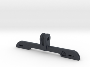Number Holder for GoPro-Style Mount in Black PA12