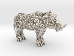 Warthog (adult male) in Platinum