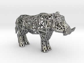 Warthog (adult male) in Natural Silver