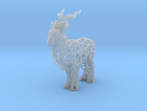 Markhor (adult male) in Smooth Fine Detail Plastic