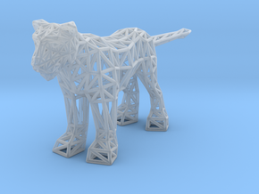 Lion (adult female) in Smooth Fine Detail Plastic
