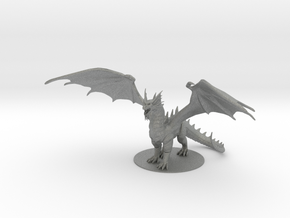 Bahamut in Gray Professional Plastic