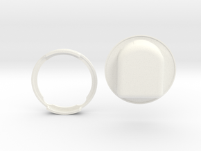 GyroPod - The Omnipod SHIELD in White Processed Versatile Plastic