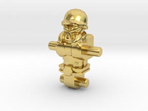 Warantros Inchman Body in Polished Brass