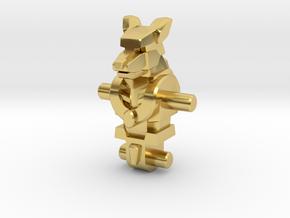 Annubros Incman Body in Polished Brass