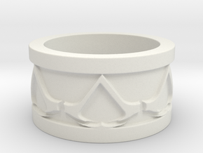 Assassins Creed Ring in White Natural Versatile Plastic: 11 / 64