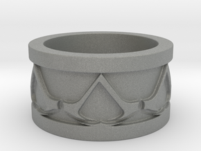 Assassins Creed Ring in Gray Professional Plastic: 2 / 41.5