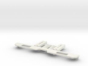 Tail light set Toyota LC70 in White Natural Versatile Plastic