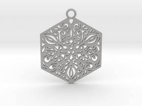 Ornamental pendant in Aluminum
