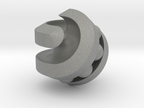Hexasphericon Bearing in Gray Professional Plastic