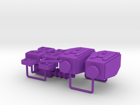 IF-EX18 Lord Scorpion Addon in Purple Processed Versatile Plastic