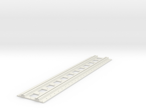 x-165bas-b2b-long-straight-track-joiner-1a in White Natural Versatile Plastic