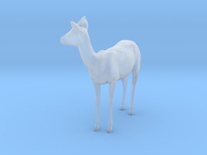 Thomson's Gazelle 1:16 Standing Female in Smooth Fine Detail Plastic