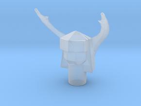 Microman Acroyear Beetle Helmet in Smooth Fine Detail Plastic